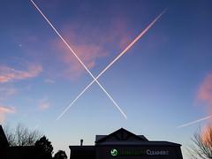 Crossed Sunset