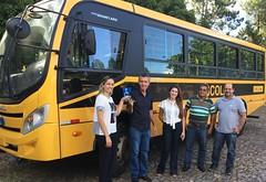 20 02 2017 - Santa Maria do Suaçui - Recebimento do Ônibus Escolar