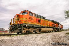 BNSF 4155 | GE C44-9W | CN Memphis Subdivision