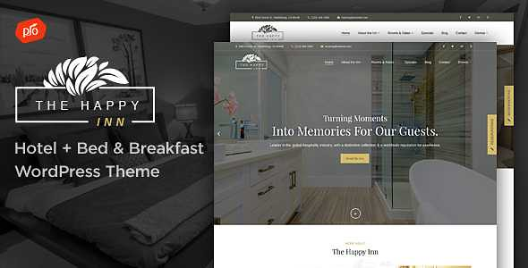 The Happy Inn WordPress Theme free download