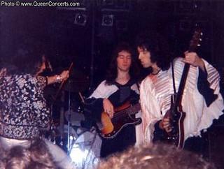 Queen live @ Harrisburg - 1974