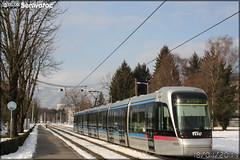 Alstom Citadis - Sémitag (Société d'Économie MIxte des Transports publics de l'Agglomération Grenobloise) / TAG (Transports de l'Agglomération Grenobloise) n°6035