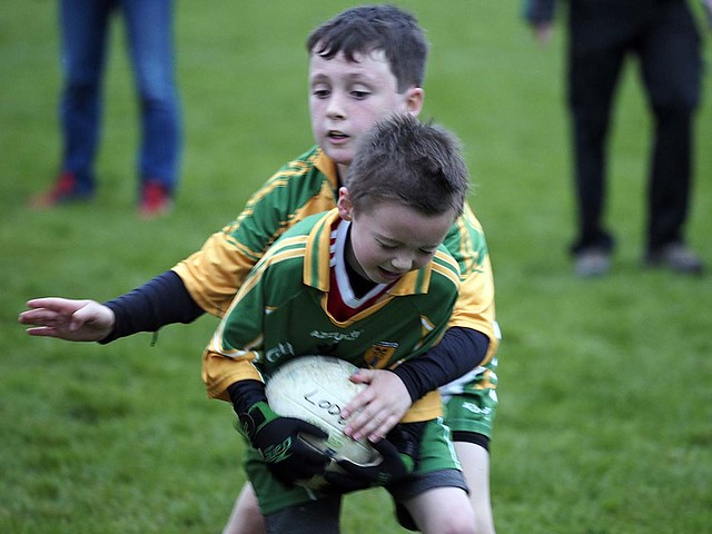 Kildangan U10 V TMH April '17