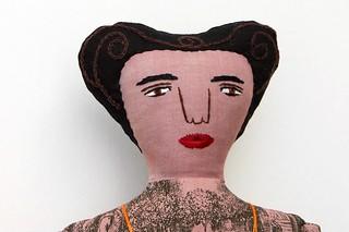 dark lady with tattoos