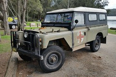 1968 Land Rover Series IIA LWB
