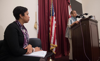 January 3, 2017 Press Conference with Congresswoman Eleanor Holmes Norton