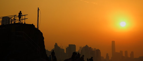sunset silhouette hongkong 219 leiyuemun canon eos5dmarkiii ef2485mmf3545usm 香港 鯉魚門