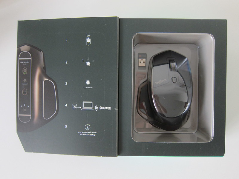 Logitech MX Master Wireless Mouse - Box Open