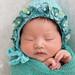 Sleeping baby girl | Brookline newborn photographer by iSweet Photography