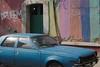 coche azul/blue car