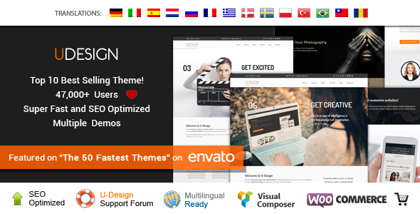 uDesign v2.13.9 – Responsive WordPress Theme