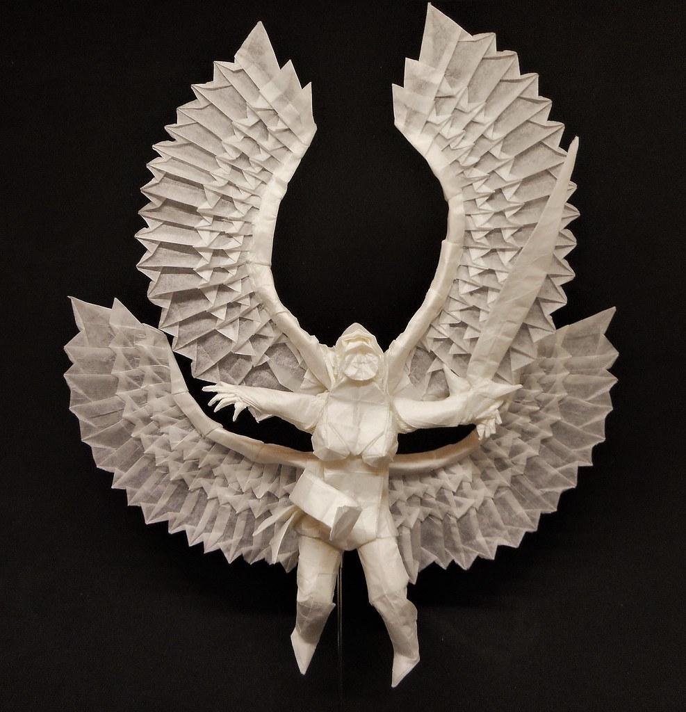 оригами мифический икар схема