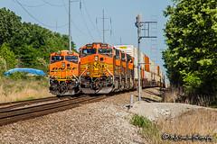 BNSF 5008 | GE C44-9W | BNSF Birmingham Subdivision