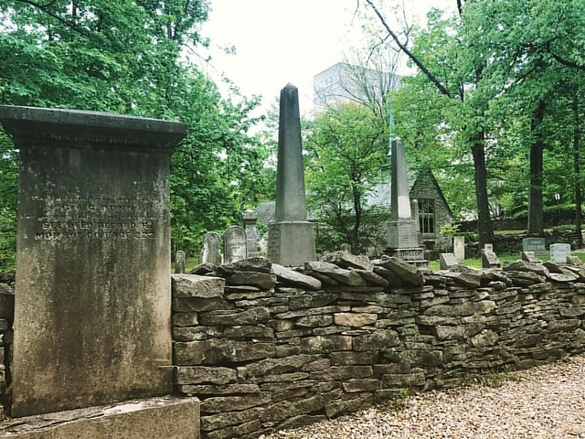 Dunn Cemetery and Beck Chapel #iu #indianauniversity #dunncemetery #beckchapel #drystonewall #cemeteries