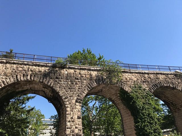 Heart Blue Bridge