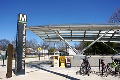 College Park Metro Glass Canopy