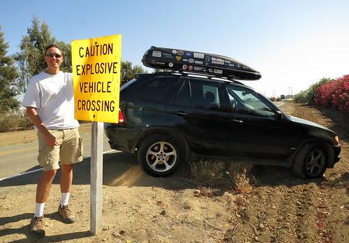 Explosive Vehicle Crossing