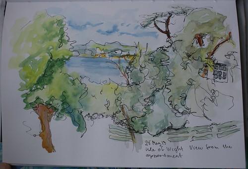 Window view sketch