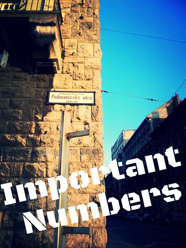 Important Numbers in Budapest
