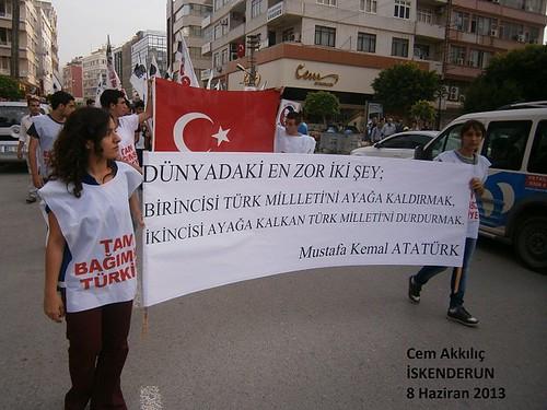 TGB İskenderun Gezi Parkı eylemi
