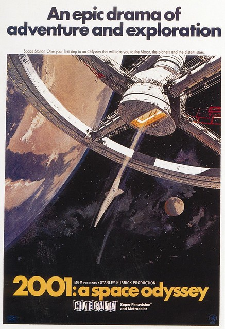 POSTER - 2001  A SPACE ODYSSEY