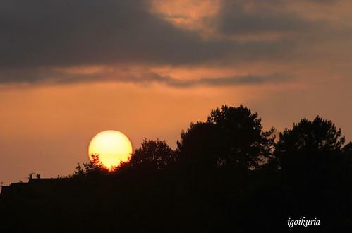 El sol de ayer