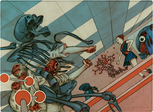 Chemistry. Process Recess. James Jean.