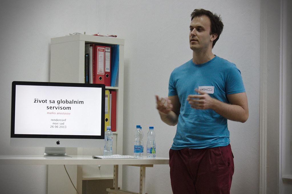 RenderConf: Marko Anastasov, Život sa globalnim servisom