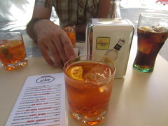 beer(0.0), alcohol(1.0), distilled beverage(1.0), liqueur(1.0), spritz(1.0), negroni(1.0), drink(1.0), cuba libre(1.0), cocktail(1.0), mai tai(1.0), long island iced tea(1.0), alcoholic beverage(1.0),