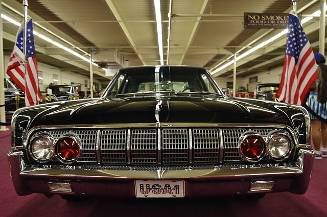 1962 Lincoln Continental Towne Limousine by Hess & Eisenhardt / Pres. John F. Kennedy's Car