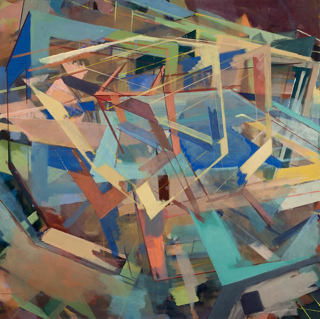 CasP, 130 x 130 cm, Acryl, 2013