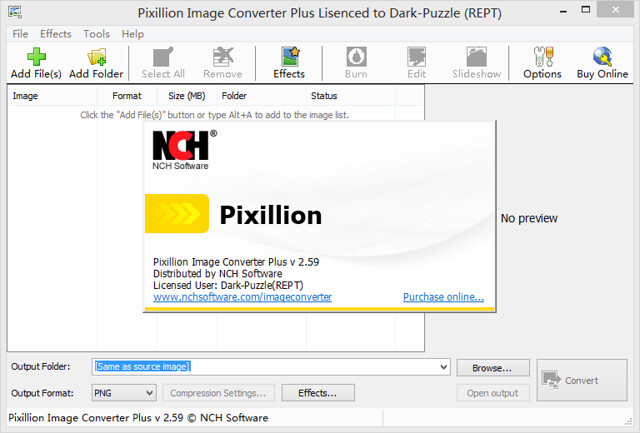 Pixillion Image Converter Plus v2.59