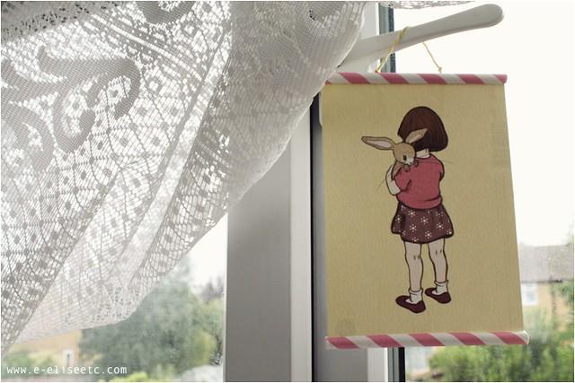 diy paper straw frame 1
