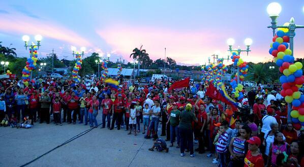 Así celebró San Francisco el cumpleaños de Hugo Chávez