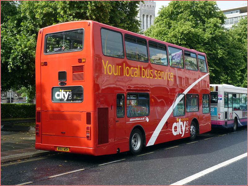 Plymouth Citybus 430 W463WGH