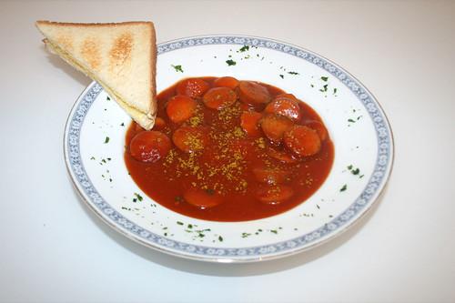07 - Sonnen-Bassermann Meine Currywurst - serviert