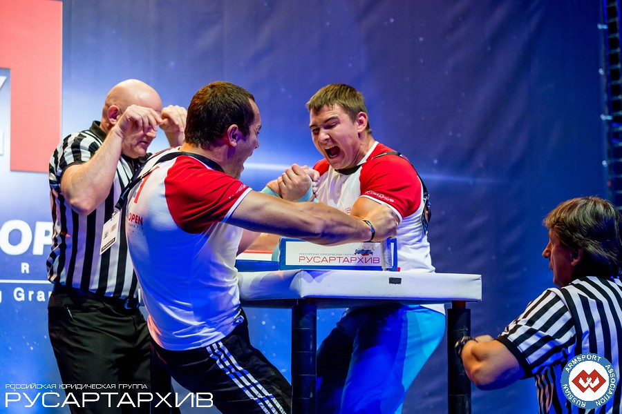 Alexander Archegov vs. Artem Taynov │ A1 RUSSIAN OPEN 2013, Photo Source: armsport-rus.ru