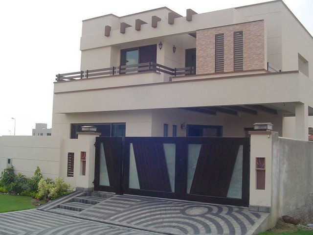 Home Design In Pakistan home outside design luxury beautiful home design flat roof style kerala home design and beautiful home The Design Above Is The General Trend These Days In Dha Lahore