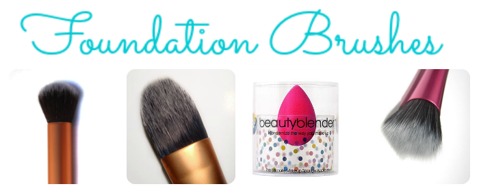 Different Foundation Brushes on southeastbymidwest.com