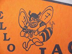 Buzz Yellowjacket, 1970s, UW-Superior