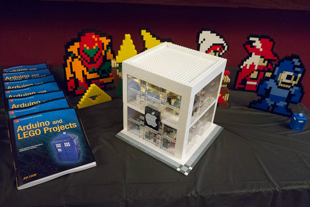 Arduino and LEGO Projects Book Party