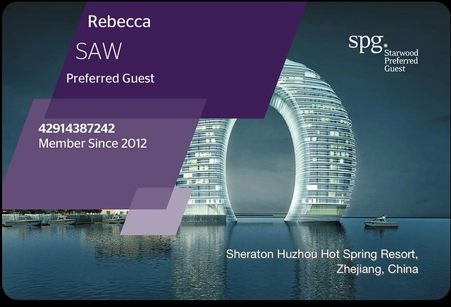 SPG Starwood Card - Preferred Guest
