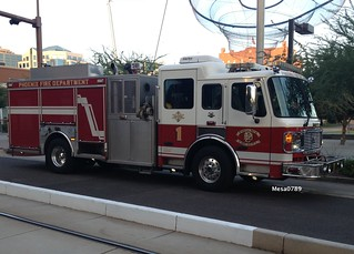 Phoenix Fire Dept, E1, Arizona