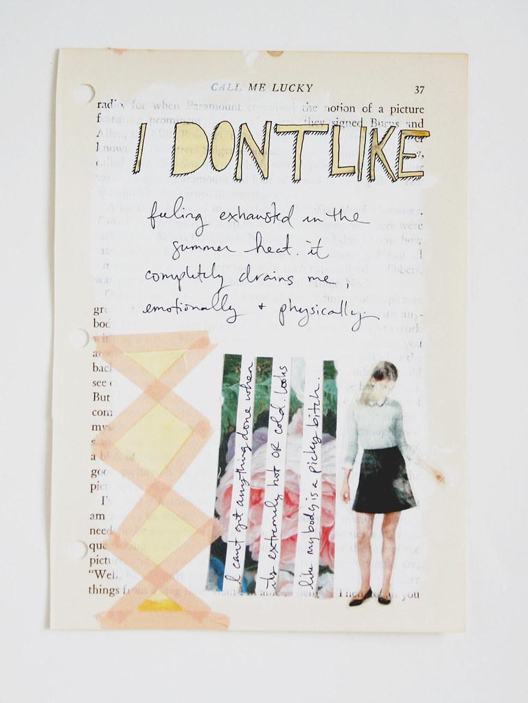 I Don't Like...
