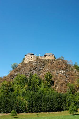 castle austria steiermark burg styria murau burgruine dürnstein stmk 9323 hochmittelalter dürnsteinindersteiermark