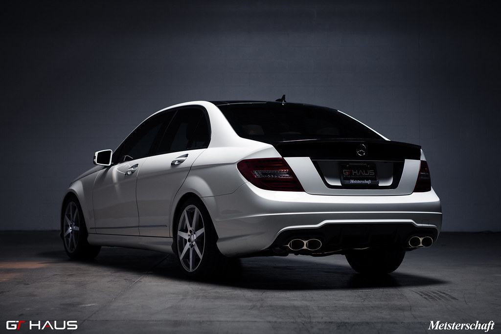 Meisterschaft performance exhaust systems for w204 c300 for Mercedes benz racing parts