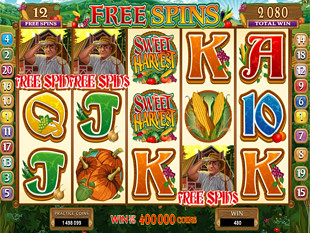 Sweet Harvest Free Spins