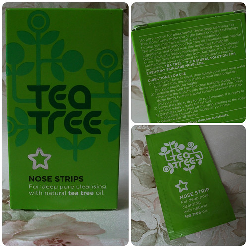 Superdrug Tea Tree Nose Pore Strips Review