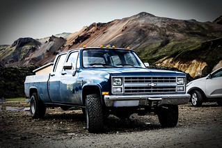 1988 - Chevrolet K30 (m1008) - (Crew Cab, long bed, 6.2 Diesel V8)