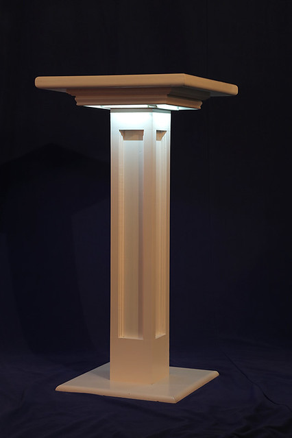 Decorative Column Table-Lighted
